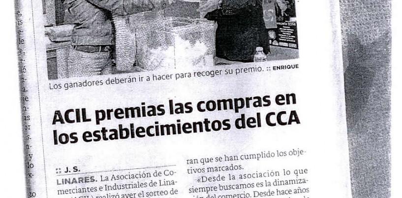 ACIL premia las compras en los establecimientos del CCA