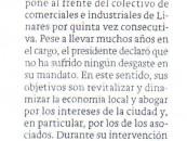 Luis Pedro Sánchez repite como Presidente del Colectivo de Comerciantes