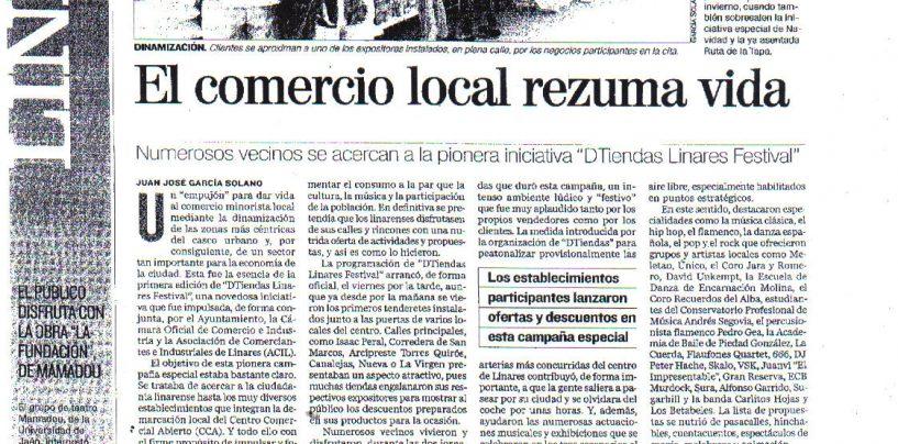El Comercio Local Rezuma Vida