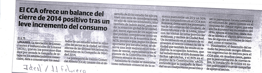 Noticia 11 de febrero Ideal Jaén