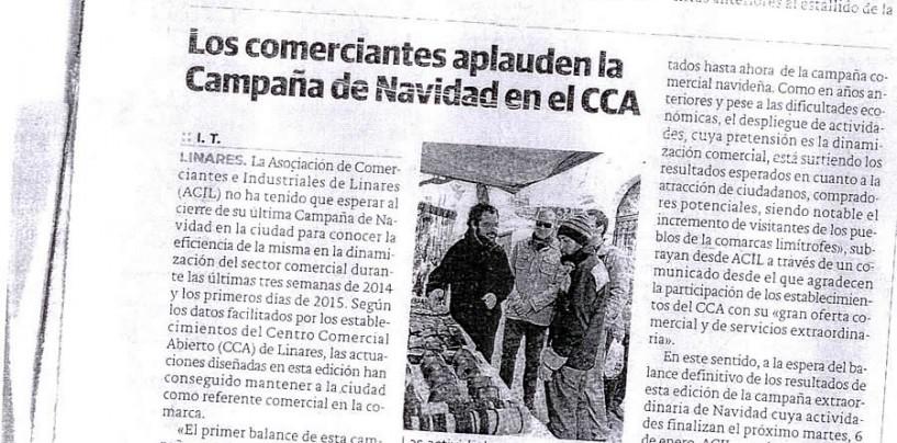 Los Comerciantes aplauden la campaña de Navidad en el CCA