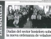 Dudas del Sector hostelero sobre la nueva ordenanza de veladores