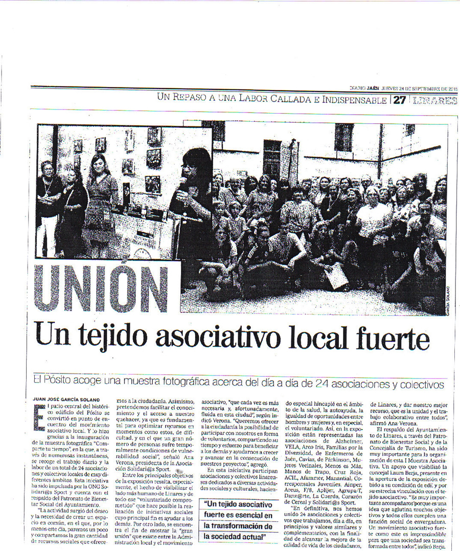 Noticia Prensa 24 Sep Diario jaén