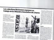 Los Coletivos Linarenses exponen su trabajo en la I Muestra Asociativa