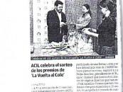 """ACIL celebra el sorteo de los premios de """" La Vuelta al Cole"""""""