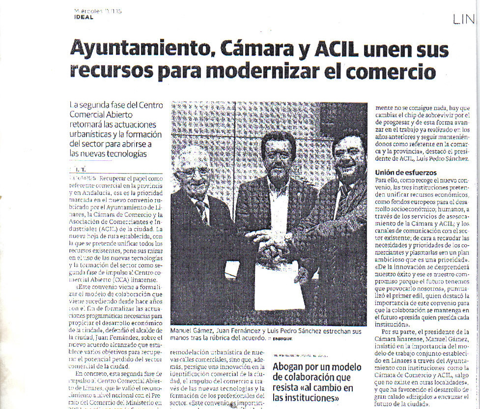 Prensa 11 nov Periódico Ideal