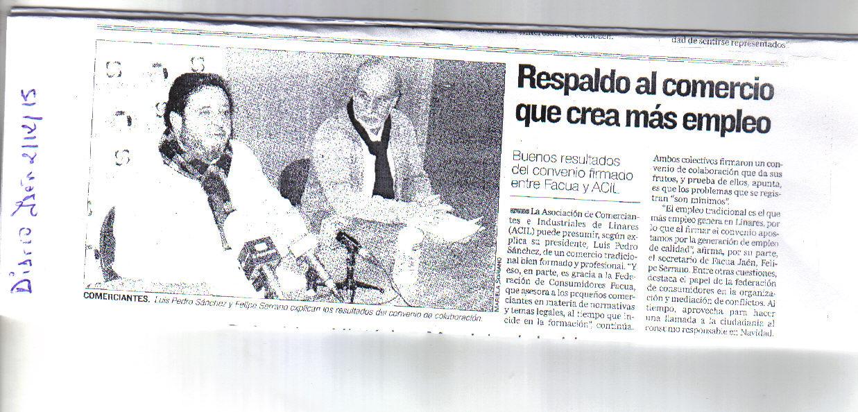 Noticia Jaén 2 dic