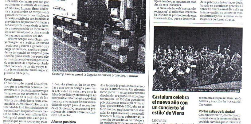 """Castulum celebra el nuevo año con un concierto al """"estilo Viena"""""""