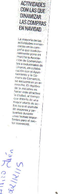 Prensa Diario Jaén 22 dic
