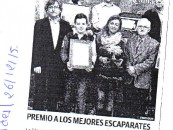 Premio a los mejores escaparates