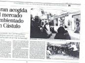 Gran acogida al mercado ambientado en Cástulo
