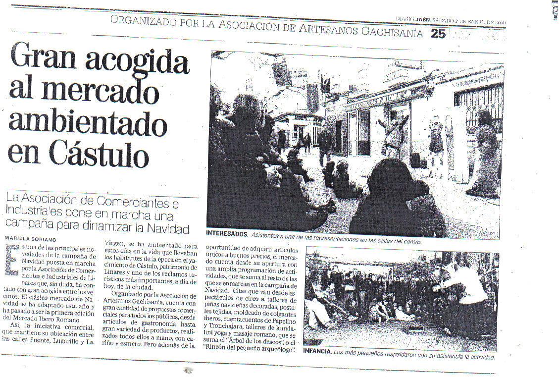 Prensa. Diario jaén 2 enero