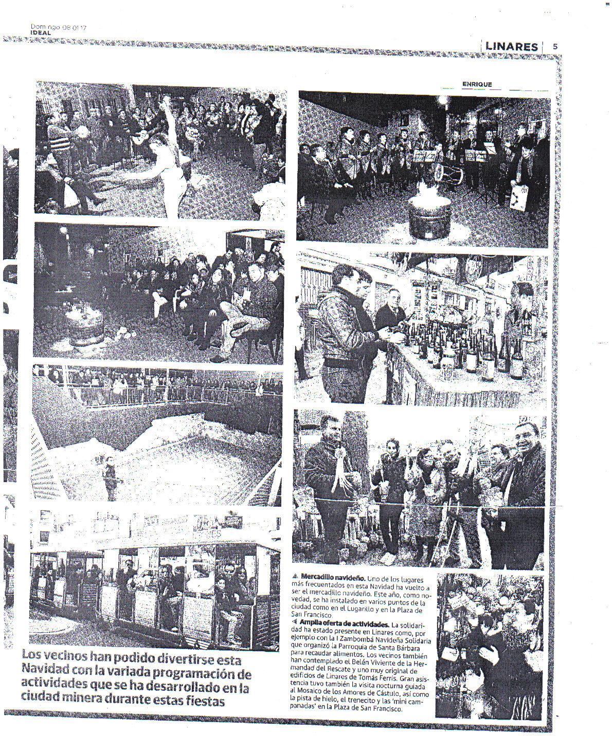 Prensa 8 de enero. Ideal