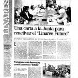 """Una carta a la Junta para reactivar el """" Linares Futuro"""""""