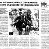 La II edición del DTiendas Linares Festival cosechó un gran éxito entre los ciudadanos