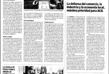 Photo of La Defensa del Comercio, la industria y la economía local, máxima prioridad de ACIL